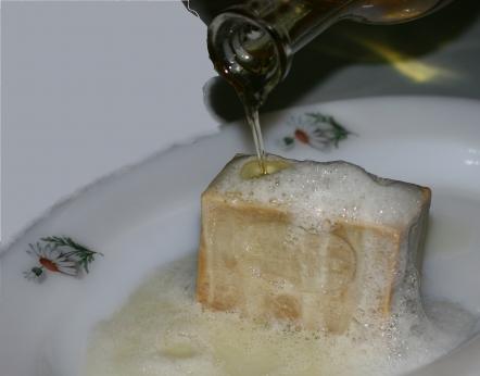 Zeytinyağlı Garlı Sabun