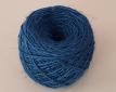 Doğal Mavi dekoratif jut ip